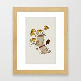 TE ESTOY ESPERANDO Framed Art Print