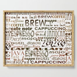 Coffee - In So Many Words Serving Tray