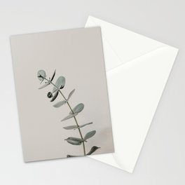 Stretch: minimalist botanical eucalyptus Stationery Cards