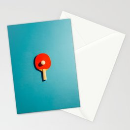 Symmetrical Ping Pong Stationery Cards