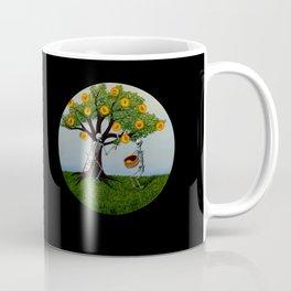Embryo Tree (black background) Coffee Mug