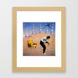Golf. Framed Art Print