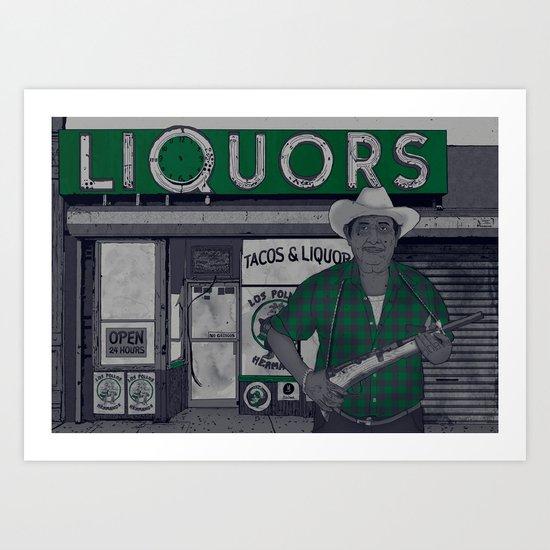 Liquors Art Print