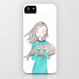 Just want to hold you iPhone Case