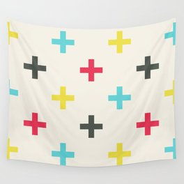 Large Plus Signs #1 Wall Tapestry
