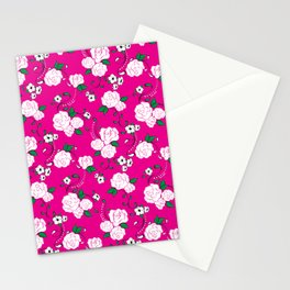 Muerta Roses Pink Stationery Cards