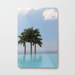 Hawaiian Oasis Metal Print