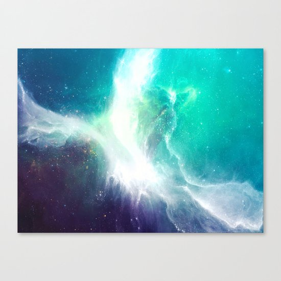 Wave to Heaven Canvas Print
