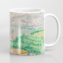"Henri-Edmond Cross ""Pérouse, les boeufs"" Coffee Mug"