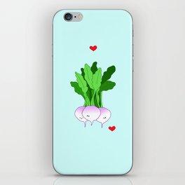 Turnip Friends iPhone Skin