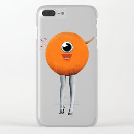 Eye Spy Clear iPhone Case