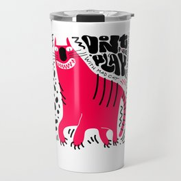 Mad Cat Travel Mug
