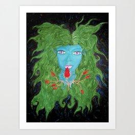 Lunaris Sirena Art Print