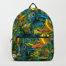 Pattern: Fish Orgy Backpack