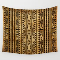african Wall Tapestries featuring African Weave by Robin Curtiss