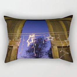 Star lights across a barn door Rectangular Pillow