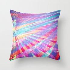 Getting through Throw Pillow
