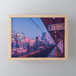 5 AM in Tokyo Framed Mini Art Print