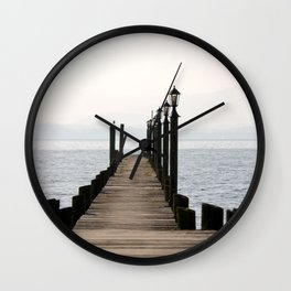 Chiemsee, Bavaria, Germany Wall Clock