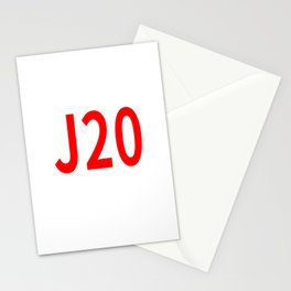 J20 Stationery Cards