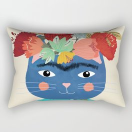 Frida Cathlo Rectangular Pillow
