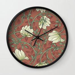 Victorian Textile Design P7 Larger Pattern Wall Clock