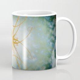 Gold filligree in space Coffee Mug