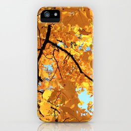 Glorious Golden Hickory iPhone Case