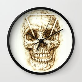 No Eyes That See All Wall Clock