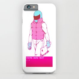 Biker iPhone Case