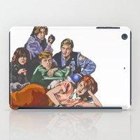 the breakfast club iPad Cases featuring The Breakfast Club by Heidi Banford