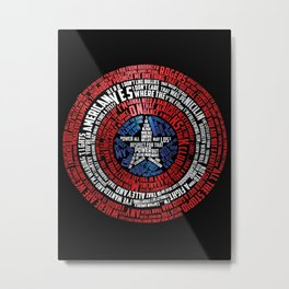 Who is Steve Rogers? Metal Print