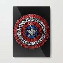 Who is Steve Rogers? Metal Print