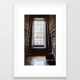Trinity Window Framed Art Print