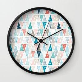 Wondrous Earth Pattern Wall Clock