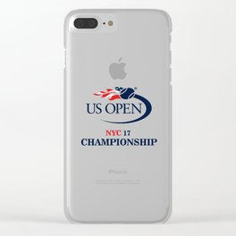 NYC US OPEN 2017 CHAMPIONSHIPS Clear iPhone Case