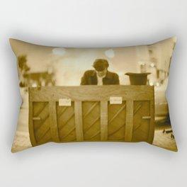 The Pianist Rectangular Pillow