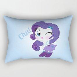 Cute Equestria Girls - Rarity Rectangular Pillow