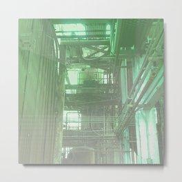 The Boiler Room Metal Print