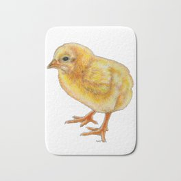 A chicken but not chicken Bath Mat
