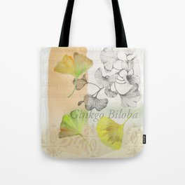 Ginkgo Biloba by Journey Home Made Tote Bag