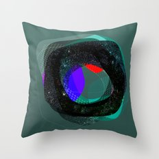 the abstract dream 9 Throw Pillow