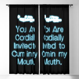 Cordially Invited Blackout Curtain