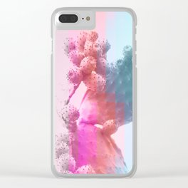 Geo Candy Cactus #decor #lifestyle #buyart Clear iPhone Case