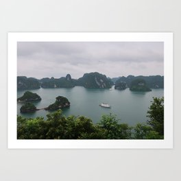 Ha Long Bay Islands Art Print