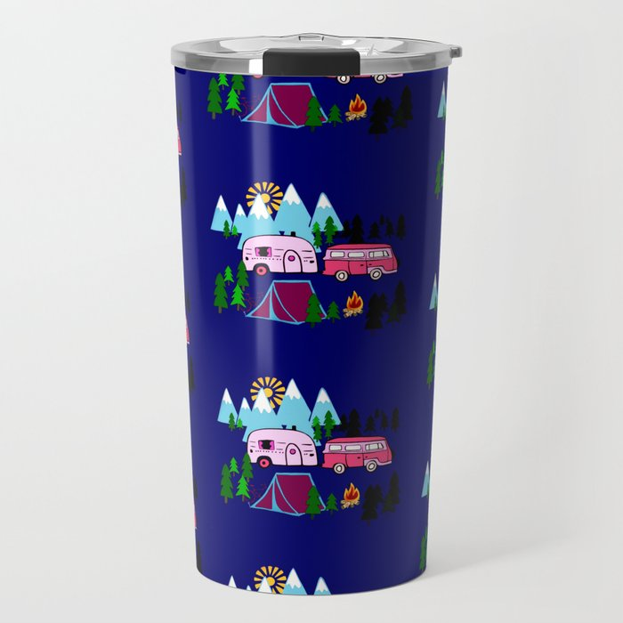 Lady Bed Rock Travel Mug