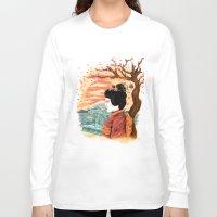 geisha Long Sleeve T-shirts featuring geisha by itssummer85