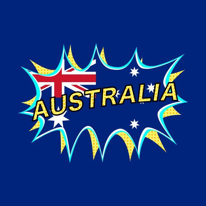 Australia Duvet Cover