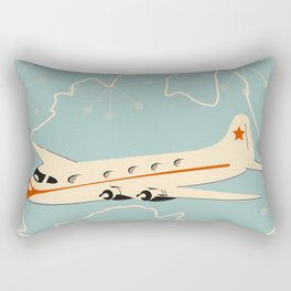 Australia Vintage style travel poster Rectangular Pillow