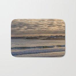 Sunbeams at Cape Hedge Beach Bath Mat